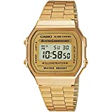 Casio Collection A168WG-9EF, Reloj Unisex, Oro